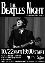10/22(土) 「BEATLES NIGHT」開催!