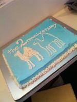 2周年パーティー、サイコーの夜でした!