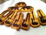 ギタークッキーを焼きました。
