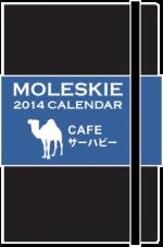 2014年モレスキン用カレンダー