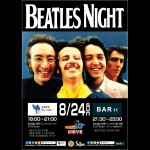 8/24(日)復活!「BEATLES NIGHT」