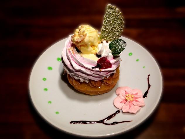ドーナツ_週_桜のドーナツ