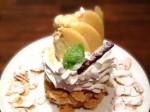 今週のドーナツ「桃とアイスのドーナツ」
