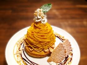 期間限定ドーナツ 「かぼちゃモンブラン」