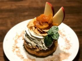 期間限定ドーナツ 「りんごのキャラメリゼ」