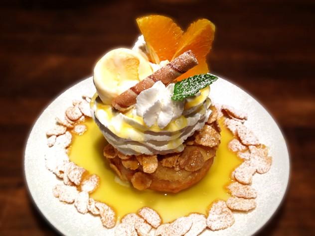 ヨーグルトとオレンジのドーナツ