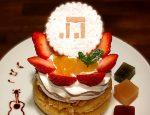 つみきレコード5周年ドーナツケーキ